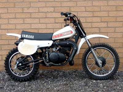 Lot 28-1980 Yamaha YZ50