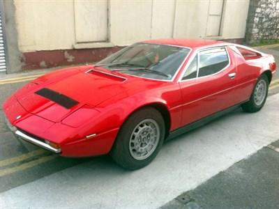 Lot 15 - 1981 Maserati Merak SS