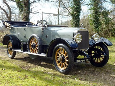 Lot 29 - 1915 Sunbeam 20hp Tourer