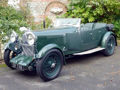 Lot 62 - 1931 Lagonda 2 Litre Low Chassis Tourer