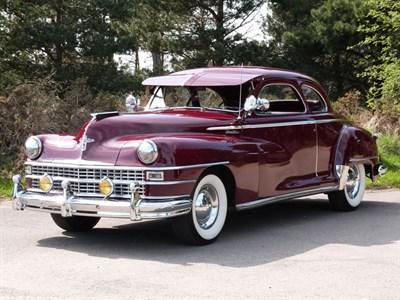 Lot 12-1947 Chrysler Windsor Coupe
