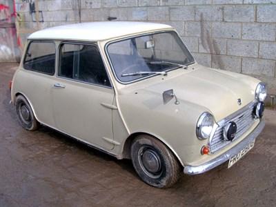 Lot 22-1968 Austin Mini Cooper 998