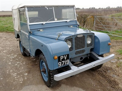 Lot 27-1949 Land Rover 80
