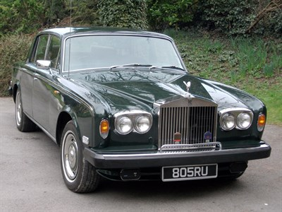 Lot 72 - 1977 Rolls-Royce Silver Shadow II