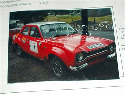 Lot 76 - 1974 Ford Escort RS 1600