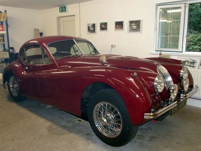 Lot 81 - 1953 Jaguar XK120 Fixed Head Coupe