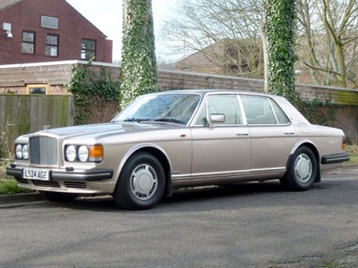 Lot 84 - 1993 Bentley Turbo R