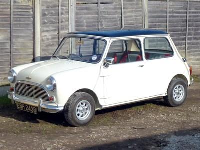 Lot 85-1964 Austin Mini Cooper S