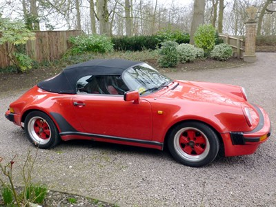 Lot 91 - 1989 Porsche 911 Speedster