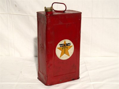 Lot 7-'Texaco' 2-Gallon Oil Can (R)