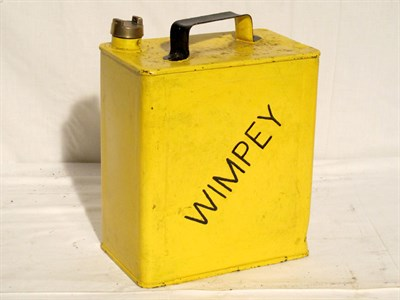 Lot 30-Restored 2-Gallon Petrol Can (R)
