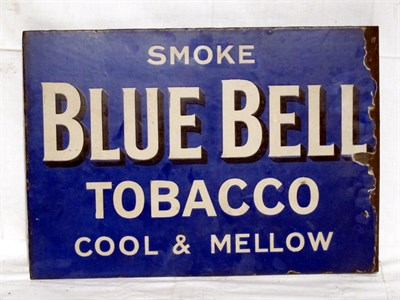 Lot 32-'Blue Bell Tobacco' Enamel Advertising Sign (R)