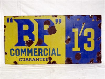 Lot 33-'BP Commercial' Enamel Advertising Sign (R)