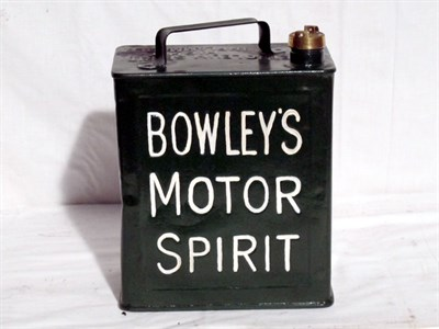 Lot 37-Restored 2-Gallon Petrol Can (R)