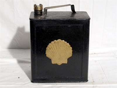 Lot 46-Restored 2-Gallon Petrol Can (R)