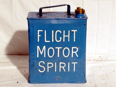 Lot 53-Restored 2-Gallon Petrol Can (R)
