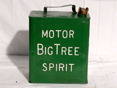 Lot 54-Restored 2-Gallon Petrol Can (R)