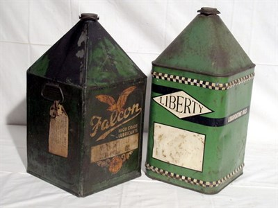 Lot 63-Two 5-Gallon Oil Cans (R)