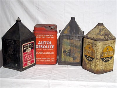 Lot 66-Four 5-Gallon Oil Cans (R)