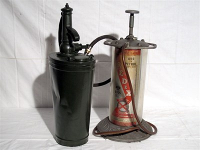 Lot 75-'Redex' Two-Stroke Oil Dispenser (R)