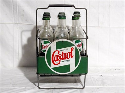 Lot 76-'Castrol' Oil Display Rack (R)