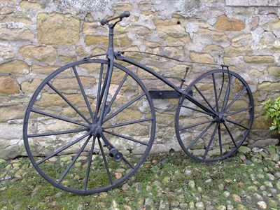 Lot 86-Velocipede 'Boneshaker' Bicycle (R)