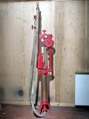 Lot 94-Hand-Operated Petrol Pump (R)
