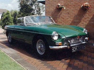 Lot 92 - 1964 MG B Roadster