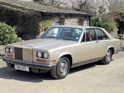 Lot 82 - 1976 Rolls-Royce Camargue