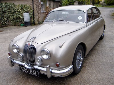 Lot 20 - 1963 Jaguar MK II 2.4 Litre