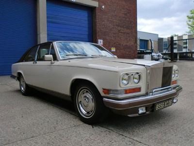 Lot 36 - 1983 Rolls-Royce Camargue 'Beau Rivage'