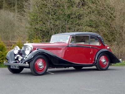 Lot 22 - 1937 Bentley 4.25 Litre Vanden Plas Coupe