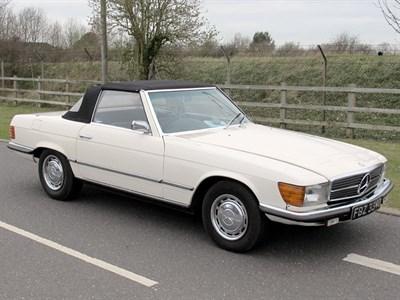 Lot 27 - 1972 Mercedes-Benz 350 SL