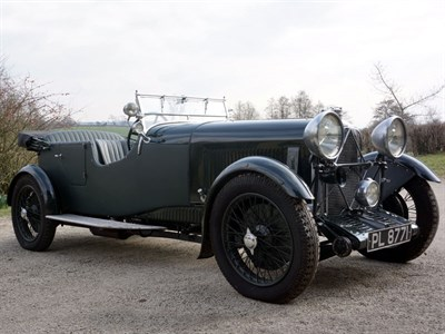 Lot 19 - 1931 Lagonda 2 Litre Supercharged Tourer