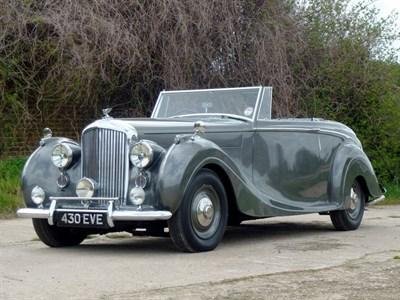Lot 35 - 1949 Bentley MK VI H.J. Mulliner Drophead Coupe