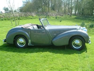 Lot 16 - 1949 Triumph 2000 Roadster