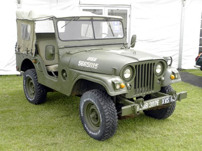 Lot 29 - 1955 Willys Jeep M38A1