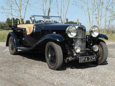 Lot 8 - 1933 Lagonda 16/80 Tourer