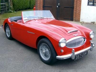 Lot 20 - 1961 Austin-Healey 3000 MKII 2+2