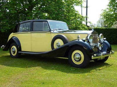 Lot 9 - 1939 Rolls-Royce Wraith James Young Saloon