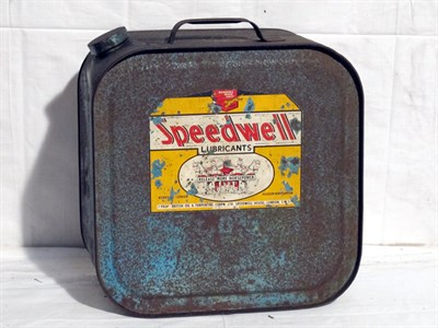 Lot 11-Pictorial Oil Can