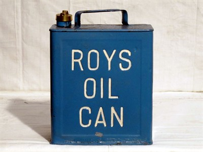 Lot 12-Two-Gallon Capacity Oil Can