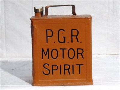 Lot 35-Two-Gallon Capacity Oil Can