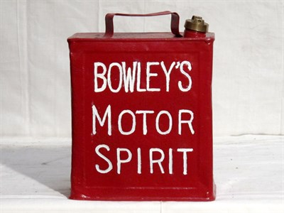Lot 36-Two-Gallon Capacity Oil Can