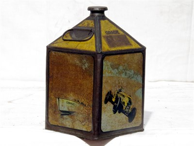 Lot 37-One-Gallon Capacity Gamages Oil Tin
