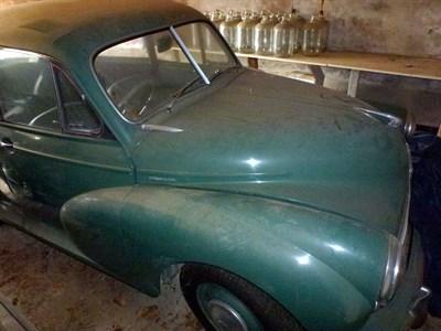 Lot 1 - 1954 Morris Minor Saloon