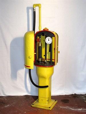 Lot 45 - Restored Hand-Operated Petrol Pump