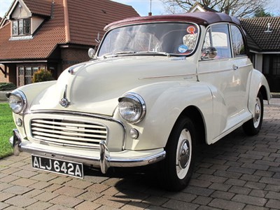 Lot 37 - 1962 Morris Minor 1000 Convertible