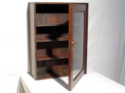 Lot 72 - Vintage Wooden Display Cabinet