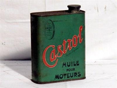 Lot 86 - 'Castrol' Oil Tin